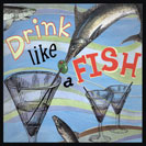 "Drink like a Fish - Clearly based on fishes' close association with water and their continuous gulping of water in order to breath. The phrase is known since 1633 and appears in Fletcher and Shirley's comedic play ""The Night Walker"" or ""The Little Thief"". ""Give me the bottle, I can drink like a Fish..."""