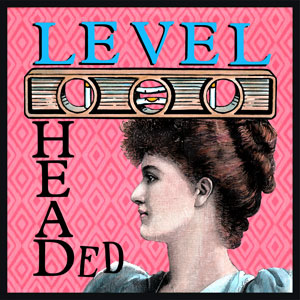Level Headed - First used in the mid-1800's. A person who has good common sense, is calm and even-tempered.  Someone who can remain rational and fully in control in a difficult situation or emergency.