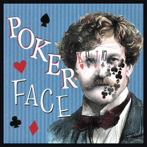 Poker Face - To have a straight face showing no emotion. If you show emotion on your face while playing poker, you may give away how good or bad the cards in your hand are. This can also refer to someone who is hiding something but isn't showing the emotion in their face, body language or voice.  Also, a song by Lady Gaga from her debut album, The Fame in 2008.