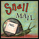 Snail Mail - From the 1980's, referring to our ordinary postal service, as opposed to electronic communications. This slangy idiom, alluding to the alleged slowness of the snail, caught on at least partly for its rhyme.
