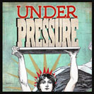 "Under Pressure - Also, ""under a deadline"" or ""under the gun"" Facing something very difficult such as a task or a deadline or feeling that there is too much to do. A song under the working title ""Feel Like""  became ""Under Pressure"" by Queen & David Bowie in 1981."