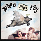 "When Pigs Fly - When something is very unlikely to happen. It seems to have been a traditional Scottish proverb, which was first written down in 1586 in an edition of John Withal's English-Latin dictionary for children. Another version is more famous, because it appears in Alice's Adventures in Wonderland by Lewis Carroll: ""I've a right to think,"" sys Alice."" Just about as much right"", said the Queen, ""as a pig has to fly""."